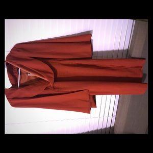 Sexy Orange Dress with Cape